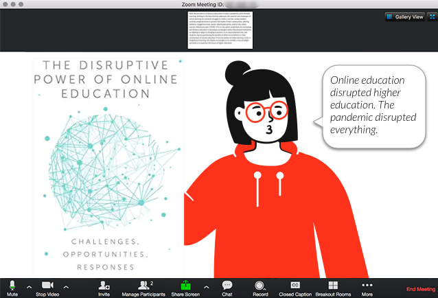 The Disruptive Power of Online Education Book Scenario