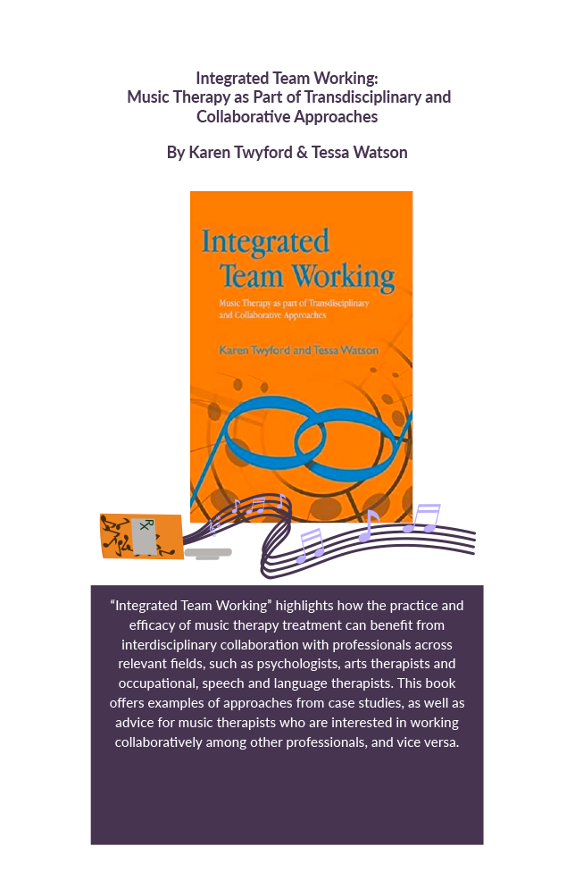 Integrated team working : music therapy as part of transdisciplinary and collaborative approaches Book Cover