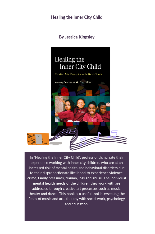 Healing the inner city child: creative arts therapies with at-risk youth Book Cover