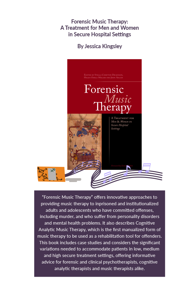 Forensic music therapy : a treatment for men and women in secure hospital settings Book Cover