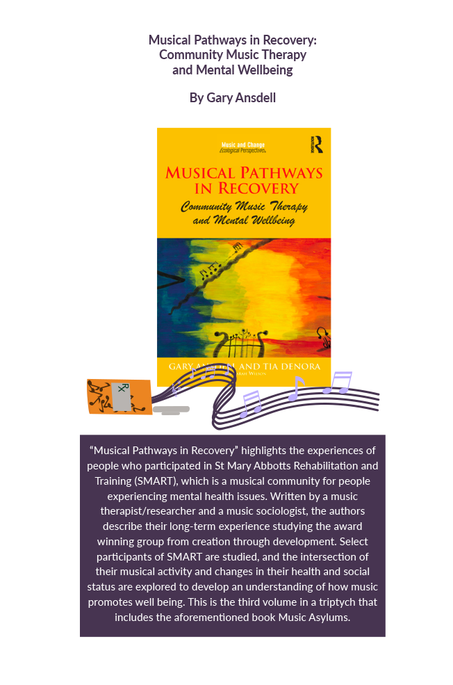 Musical pathways in recovery : community music therapy and mental wellbeing Book Cover