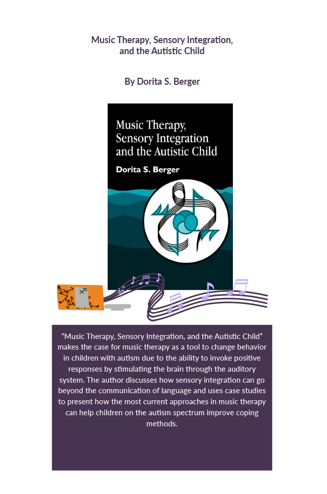 Music therapy, sensory integration, and the autistic child Book Cover