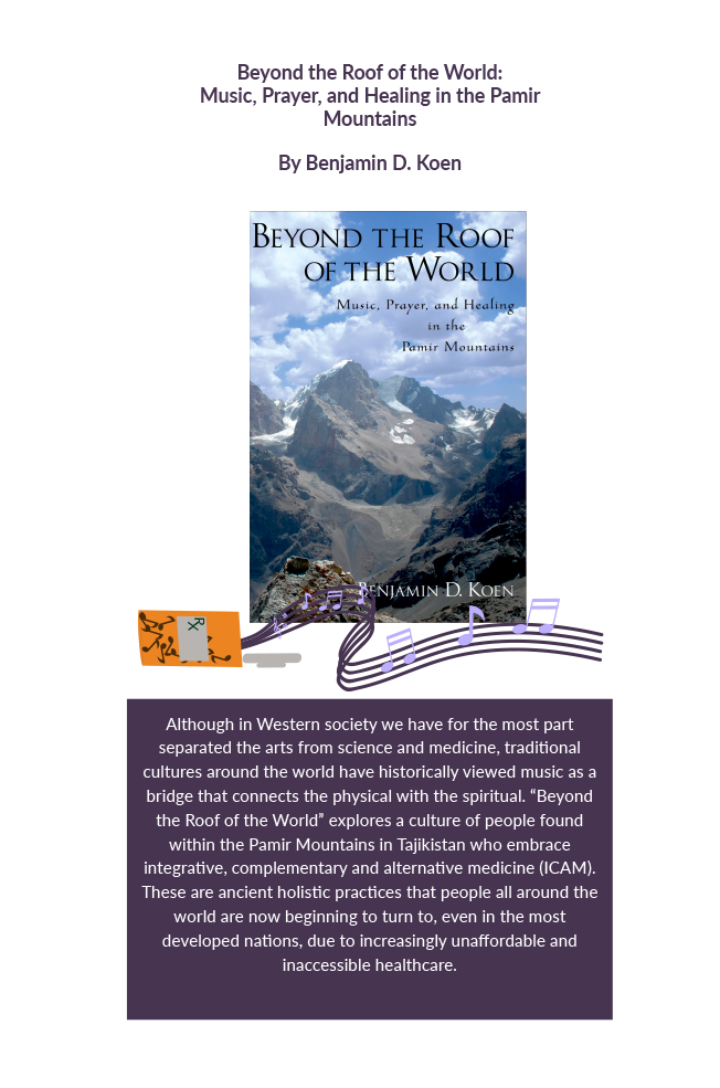 Beyond the roof of the world : music, prayer, and healing in the Pamir mountains Book Cover