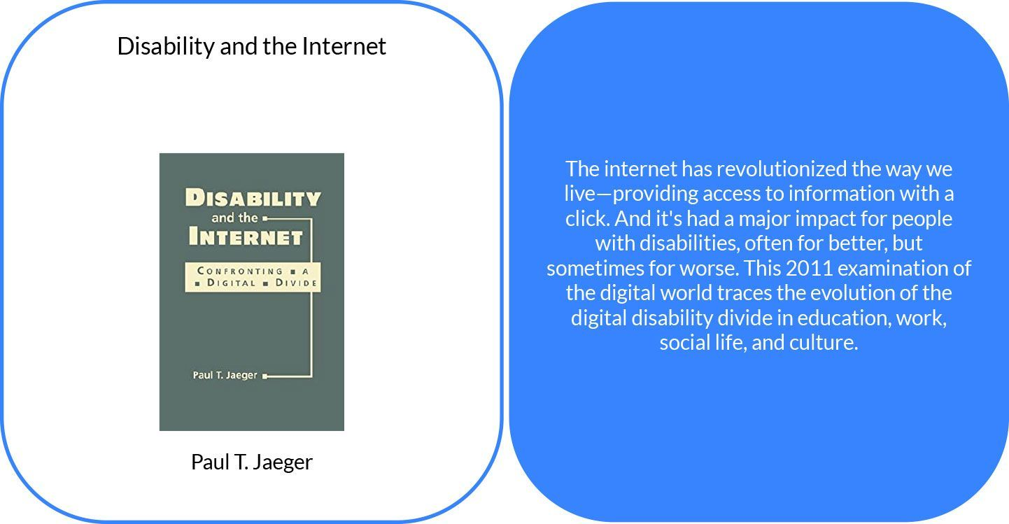 Disability and the Internet