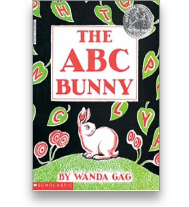 The ABC Bunny Book Cover