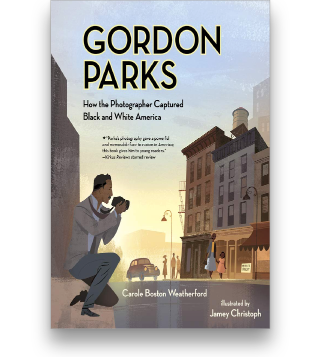 Gordon Parks: How the Photographer Captured Black and White America Book Cover