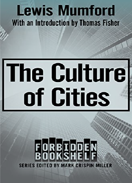 The Culture of Cities Book Cover