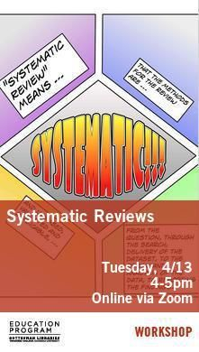 Library Poster - Systematic Reviews