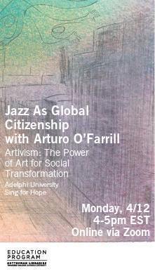 Library Poster- Artivism- O'Farrill