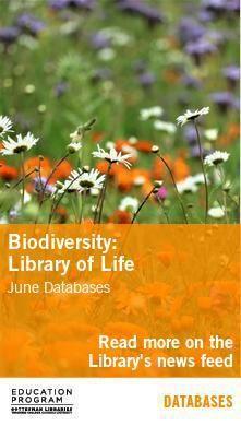 Biodiversity Databases Poster