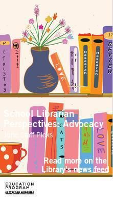 Poster for School Librarian Perspectives