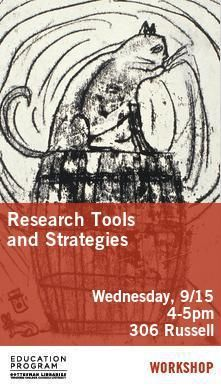 Poster- Research Tools and Strategies