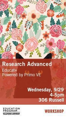 Poster - Research Advanced