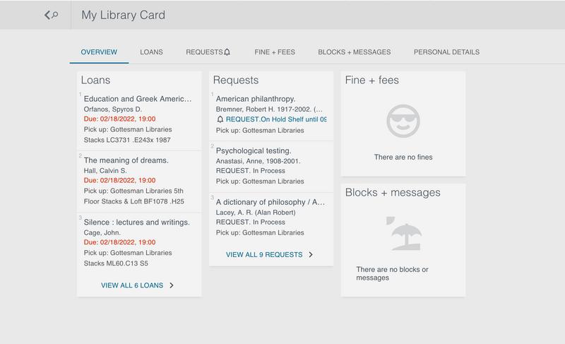 Educat+ My Library Card Screenshot