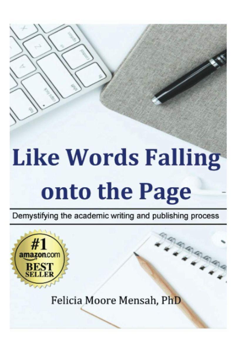 Cover of Dr. Mensah's book